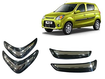 Autopearl Car Corner O E Type Bumper Protector For Maruti Suzuki