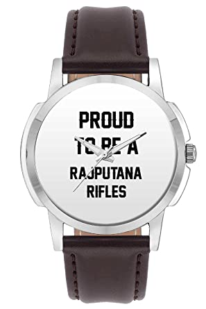 f9a981525ea1 Wrist Watch for Men - Proud to Be A Rajputana Rifles Best Gift for  RAJPUTANA Rifles