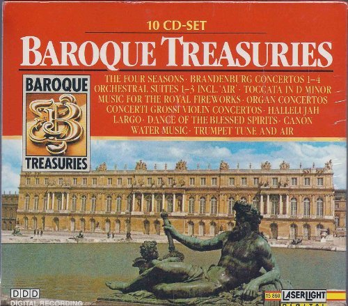 Baroque Treasuries by Various Artists (1990-08-15)