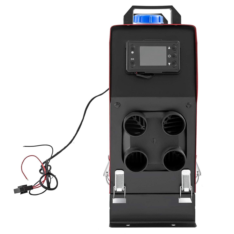 HODOY Riscaldatore d/'Aria Diesel 5KW Termostato Diesel Riscaldatore Elettrico 12V Riscaldatore daria Diesel per Camper Camper e Autobus/