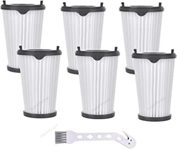 Rebirthcare - 6 filtros CX7 para aspiradora AEG Ergorapido, número ...
