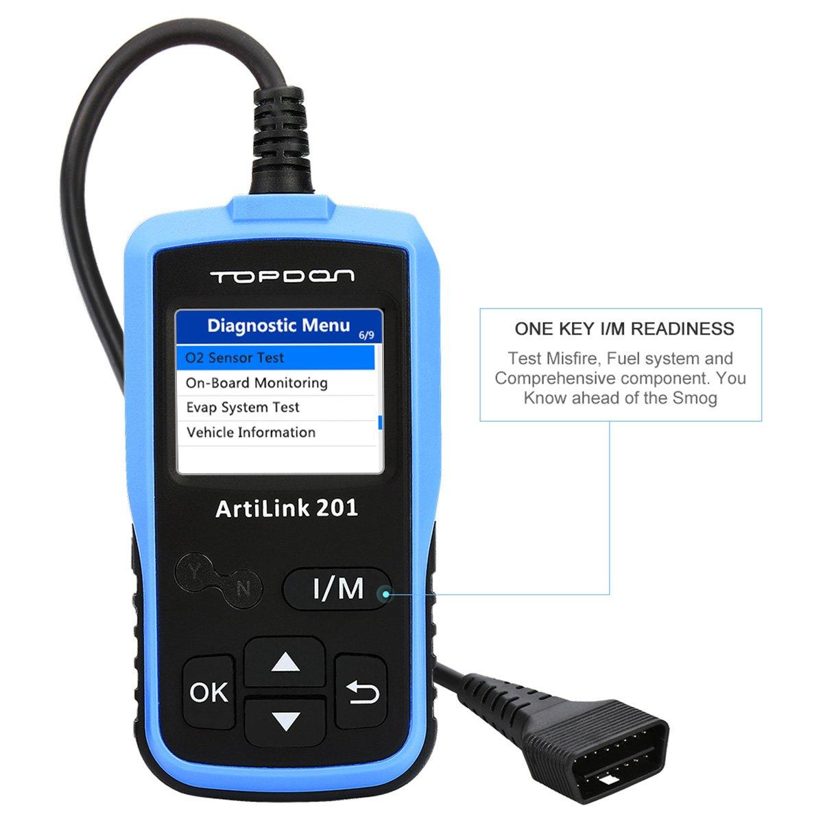 Topdon ArtiLink AL201 OBD2 Scanner Review 2018 - TopScanTool