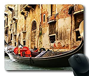 Elegant Gondolas Awesome Masterpiece Limited Design Oblong Mouse Pad by Cases & Mousepads