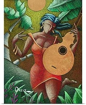 Oscar Ortiz Poster Print entitled Fantasia Boricua