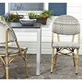 Cheap Safavieh Home Collection Barrow Grey Indoor/Outdoor Stacking Side Chair (Set of 2)