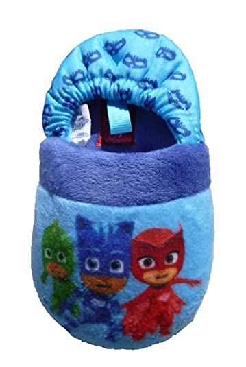 Toddler Boys Girls PJ Masks Blue A-Line Slippers (US Toddler 5/6