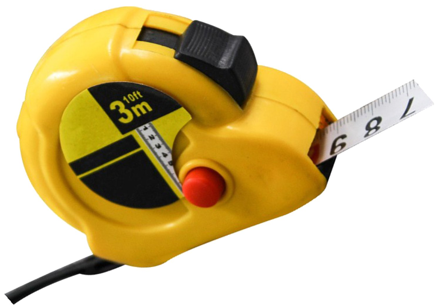 Goukelon tape measure - 6 Tape Measure With Magnetic Hook, Heavy Duty Nylon Bonded Blade And Auto Lock