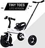 R for Rabbit Tiny Toes Lite - Baby/Kids Cycle - Smart Plug & Play Baby Tricycle for Kids/Baby for 1.5 to 5 Years (White)
