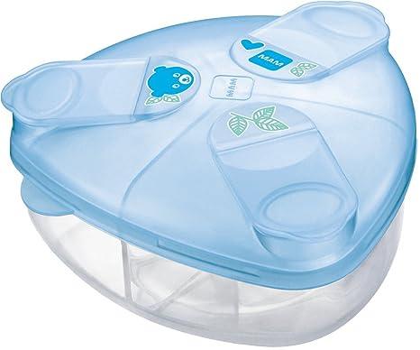 MAM Leche en Polvo dispensador (azul): Amazon.es: Bebé