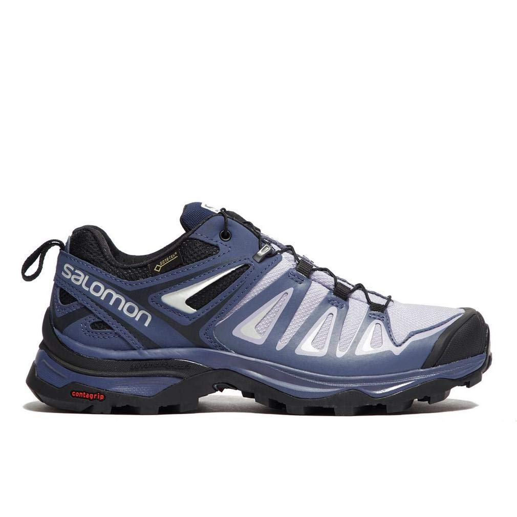 Bleu 38 EU SALOMON X Ultra 3 GTX W, Chaussures de Randonnée Basses Femme