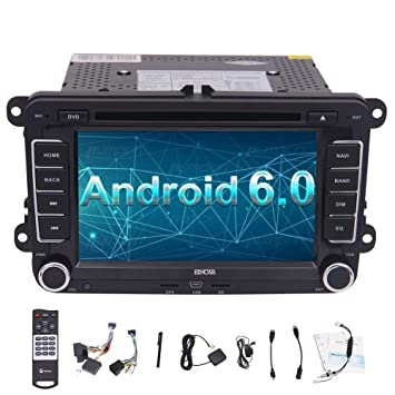 EinCar 7 HD de Pantalla t¨¢ctil 2 DIN androide 6.0 navegaci¨®
