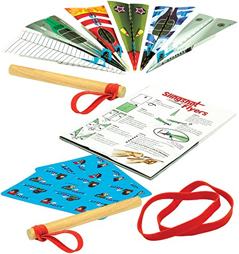 Slingshot Flyers Paper Airplane Kit - Flyer Airplane