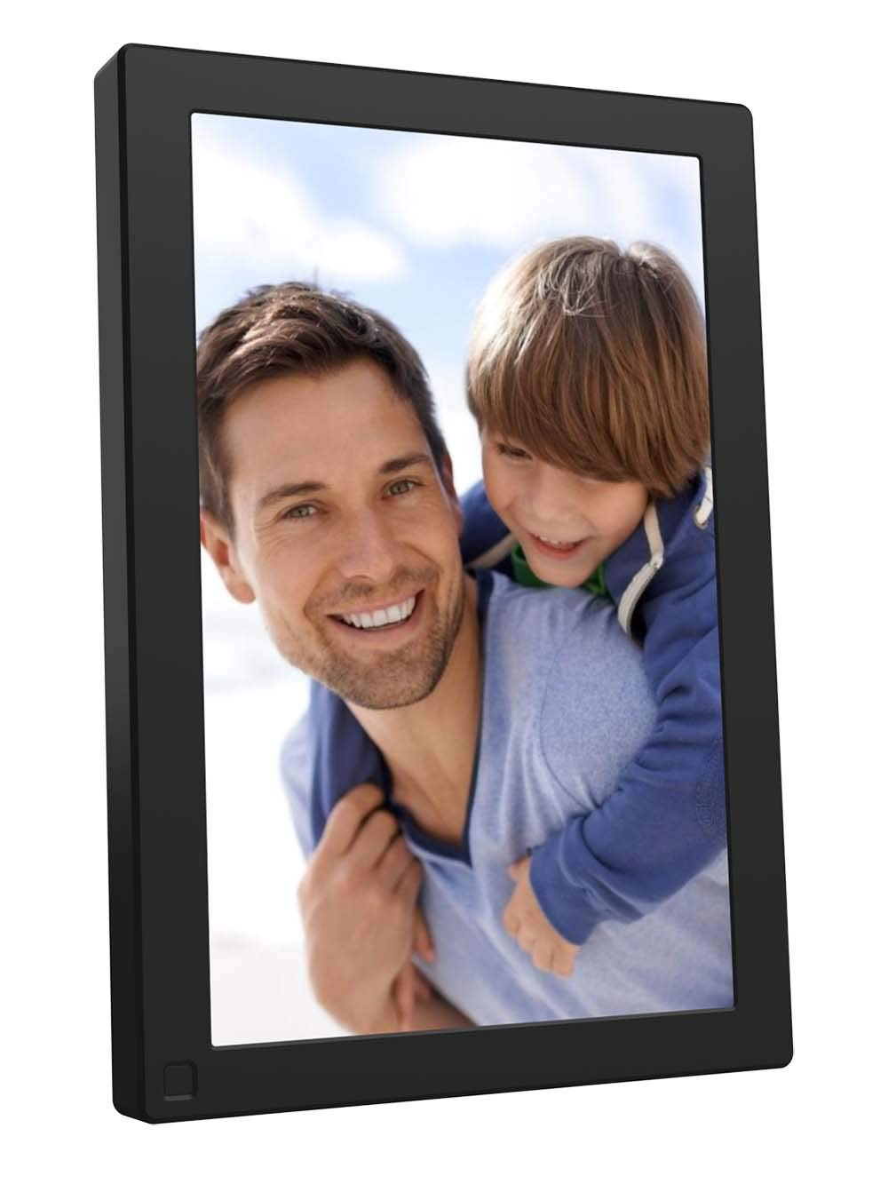 BSIMB Digital Picture Frame 10.1 Inch WiFi 16GB Digital Photo Frame 1280x800 IPS Touch Screen Auto Rotate Motion Sensor Add Photos/Videos from iPhone & Android App/Twitter/Facebook/Email W10 by Bsimb