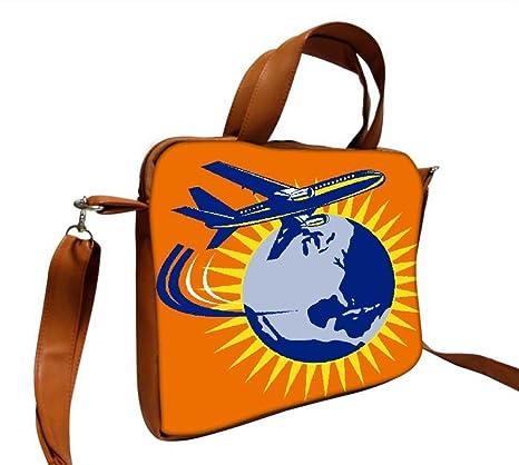 Snoogg Comercial Jet Avión Avión volar globo 12 pulgadas a 12,5 pulgadas a 12.6 pulgadas portátil ...