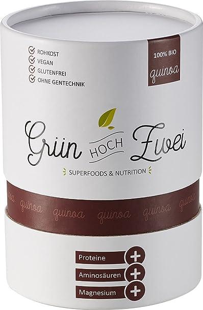 Bio quinoa Semillas 500 g Premium antilectura de verde de dos | Original de América del