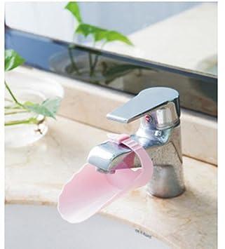 Wasserhahn Extender, Sansee Wasserhahn Extender Waschbecken Griff  Erweiterung Kleinkind Kind Badezimmer Kinder Handwäsche (Rosa