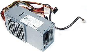250W Watt 06MVJH WX9P8 07GC81 Power Supply Unit PSU For Dell Slim Inspiron 620s Vostro 260s 270s, Optiplex 3010 7010 9090 Desktop DT Systems Compatible Part: W208D D250ED-01, DPS-250AB-68 A, D250AD-00