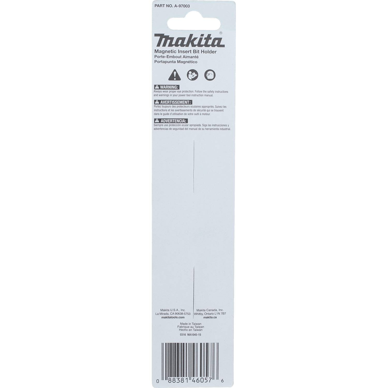 Bulk 10 Pack Makita A-99312 Impactx 3/″ One Piece Magnetic Insert Bit Holder