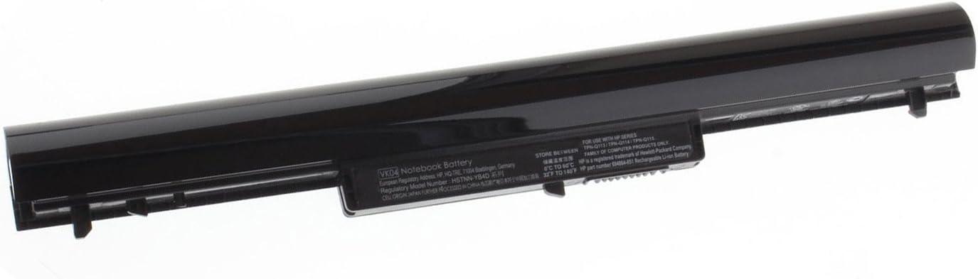 Tesurty New Replacement Battery for HP Pavilion Touchsmart Sleekbook 15-B056XX 15-B107CL 15-B109WM 15-B120US 15-B123CL 15-B142DX 15T-B100 15-B129WM 15-B153NR VK04 HSTNN-YB4D