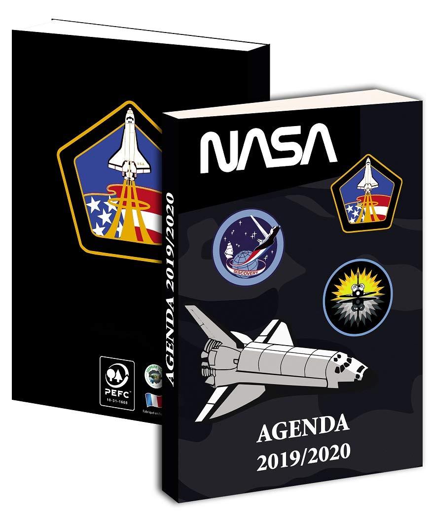 Agenda diaria NASA - Septiembre 2019 a septiembre 2020-12 x ...