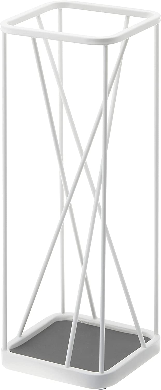 YAMAZAKI home 2807 Umbrella Stand Holder-Storage for Umbrellas & Walking Canes, White, Large