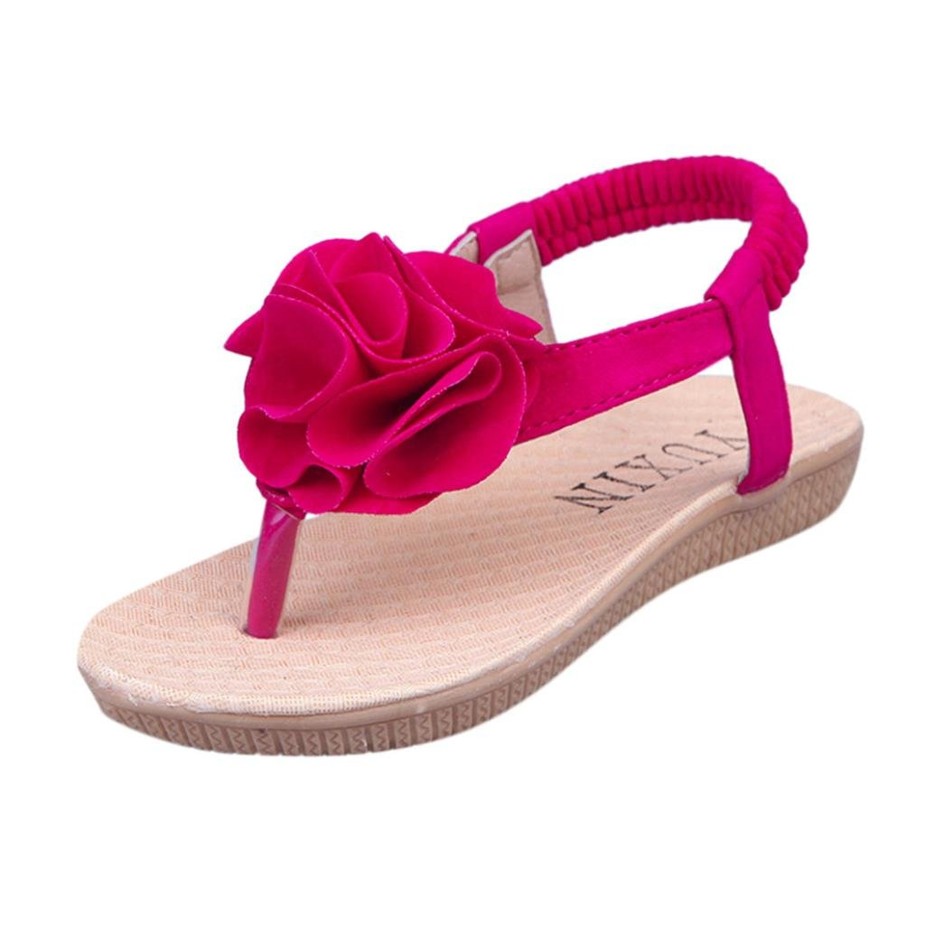 Amazon.com: WOCACHI Baby Girls Shoes Sandals Floral Patchwork Crystal Roman Princess Beach Slipper for Baby Girls Back to School Clearacne Sale Deal ...
