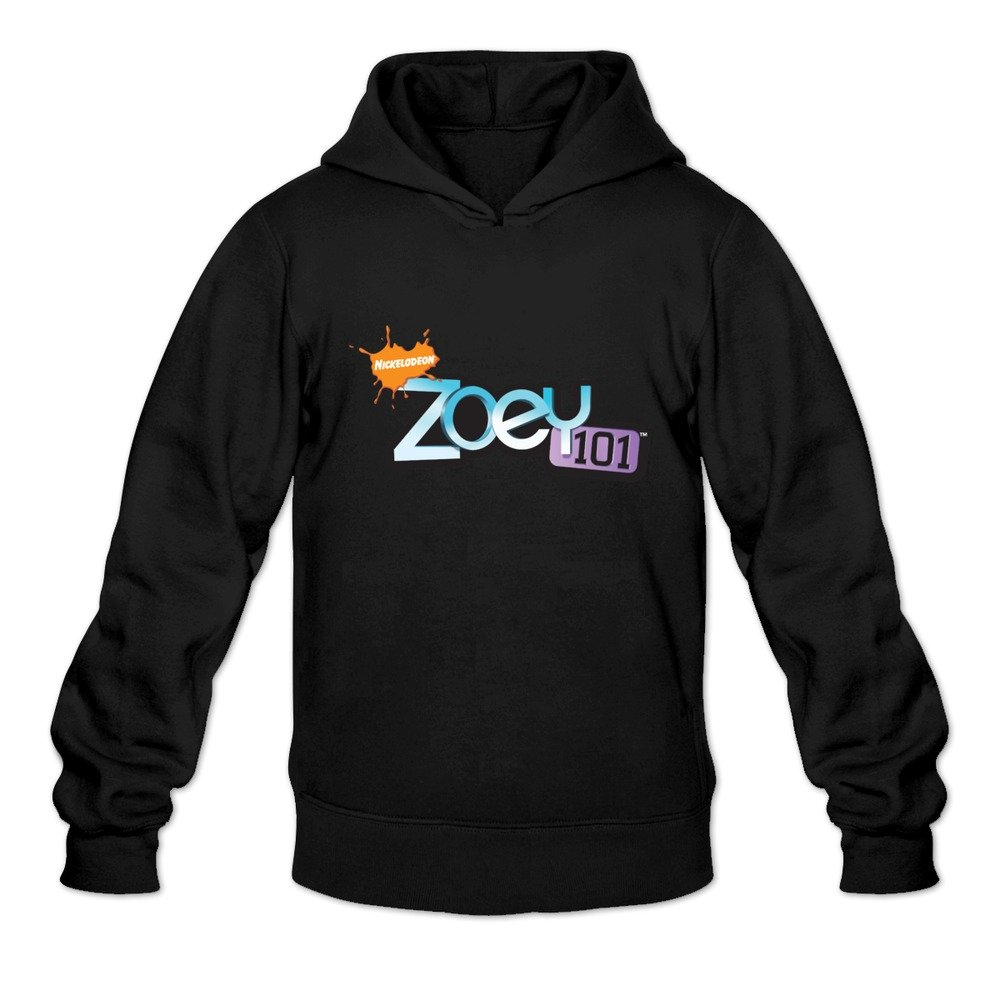 Zoey 101 Logo Hot 100 Cotton Black Long Sleeve Sweatshirts