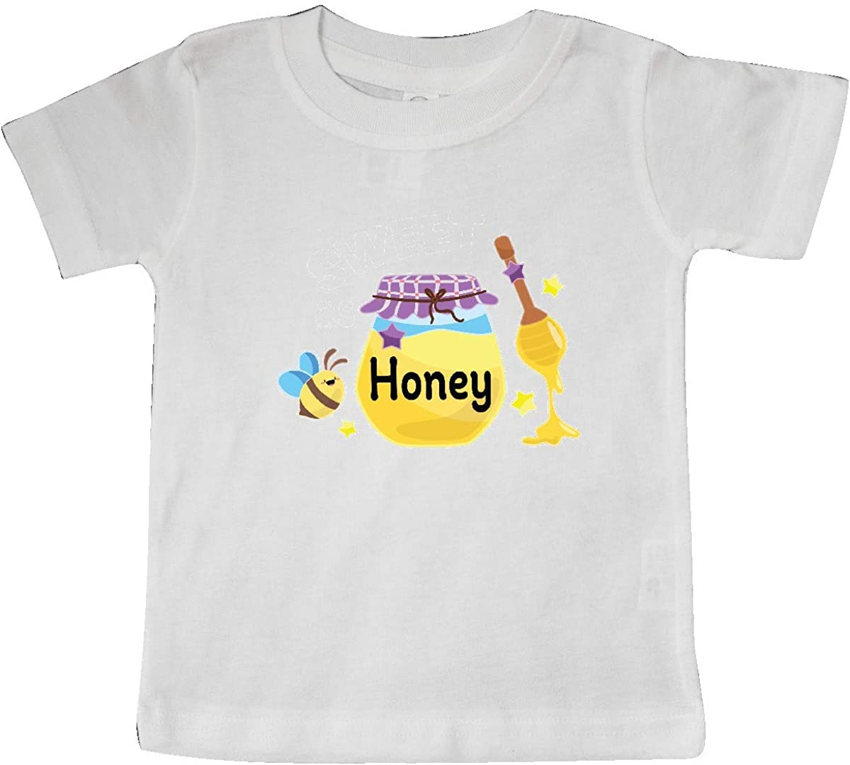 inktastic Sweet As Honey with Honey Jar and Bee Baby T-Shirt