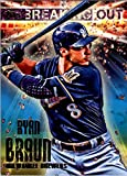 2014 Topps Opening Day Breaking Out #BO15 Ryan Braun - Milwaukee Brewers (Baseball Cards)