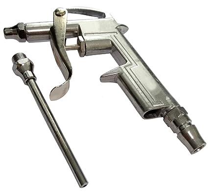 AERZETIX: Pistola de soplado con boquilla de extension comprimido de aire compresor C18570