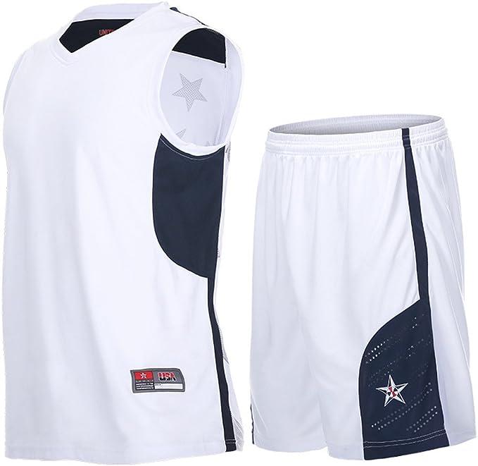 Amazon.com: Hombres Jerseys de baloncesto ropa deportiva de ...