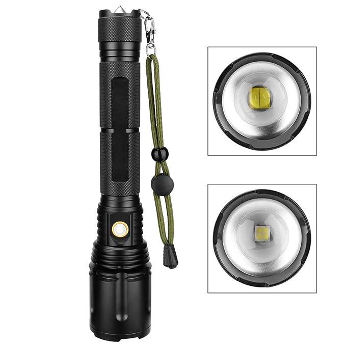 Amazon.com: Orcbee - Linterna de foco LED P70 recargable por ...