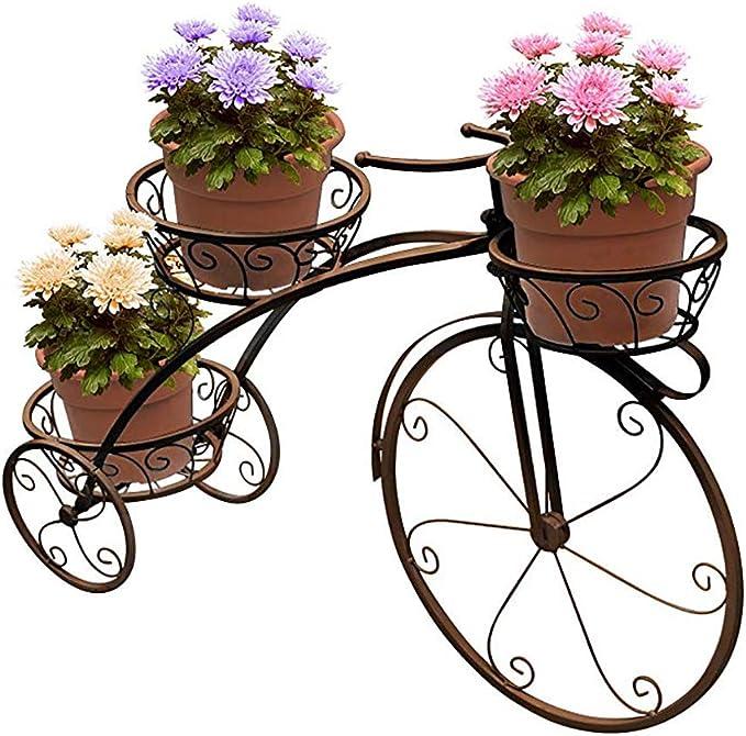 lcc Soporte de plantador de Bicicleta Soporte de Planta de ...
