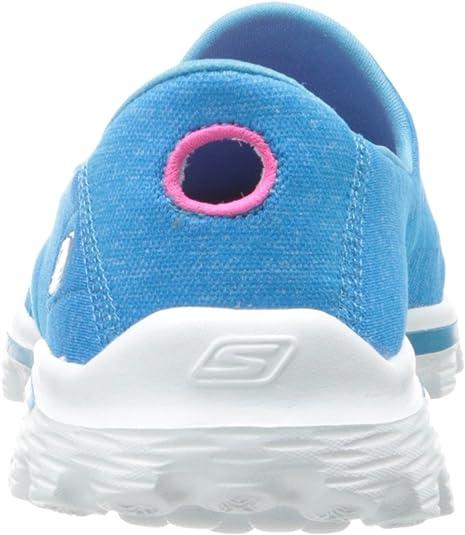 Skechers Go Walk 2 Super Sock, Damen Outdoor , türkis