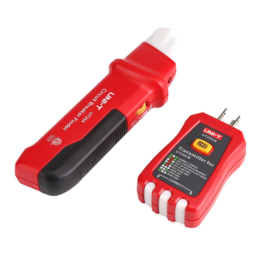 Zerodis Automatic Circuit Breaker Finder Socket Tester With Led Locator Accessory Sperry Instruments Indicator Adjustable Sensitivity Ut25a