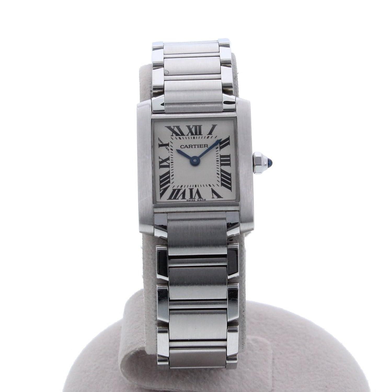 [カルティエ]Cartier 腕時計 タンクフランセーズSM 電池交換済 W51008Q3 レディース 中古 B077QS61C3