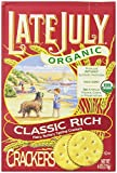 Late July Organic Classic Rich Crackers, 6-Ounce Boxes (Pack of 12) Review