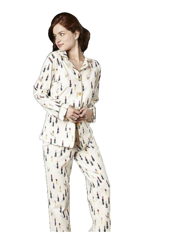 Amazon com: BedHead Pajamas Ivory Lipstick Stretch L/S Classic PJ