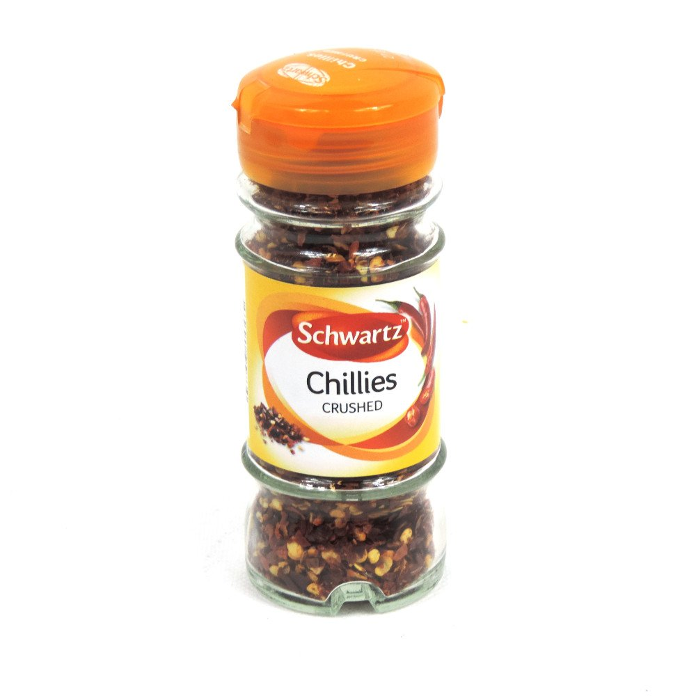 Schwartz - Chillies - Crushed - 29g (Case of 6)