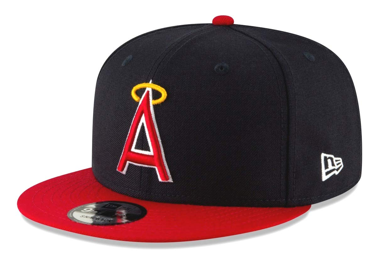 Amazon.com   New Era California Angels 9FIFTY MLB Cooperstown Logo Pack  Snapback Hat   Sports   Outdoors 789be608bf3c