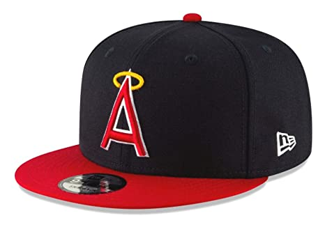 81dc80d4cb9 Amazon.com   New Era California Angels 9FIFTY MLB Cooperstown Logo ...