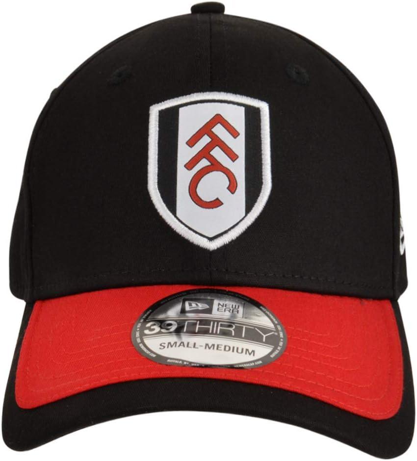 FULHAM FOOTBALL CLUB New Era FFC 39Thirty - Gorra, Color Negro y ...