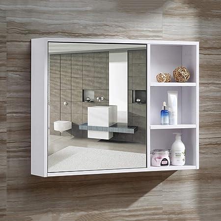 Espejo de baño con Puerta, Puerta de Madera, casillero, Espejo del ...