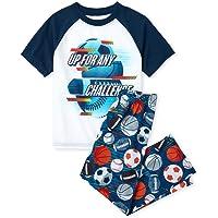 The Children's Place - Conjunto de pantalón de Pijama de Manga Corta para niño
