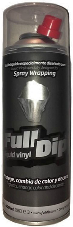 FullDip FLD0012 Vinilo Líquido, Ahumado Negro, 400 ml