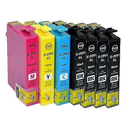 7x Cartuchos de Tinta Epson 29 29XL Compatible con Epson ...