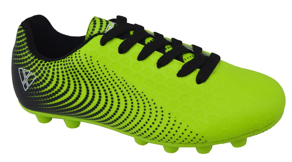 Vizari Unisex Stealth FG Green/Black Size 4.5 Soccer Shoe, M US Big Kid
