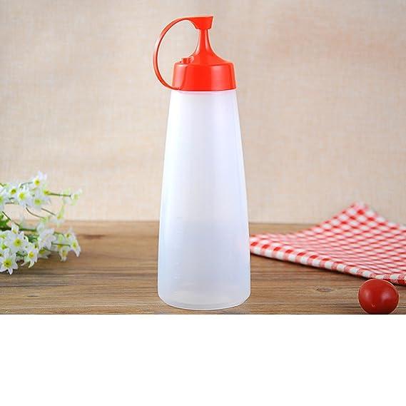 Review plastic sauce bottles squeeze