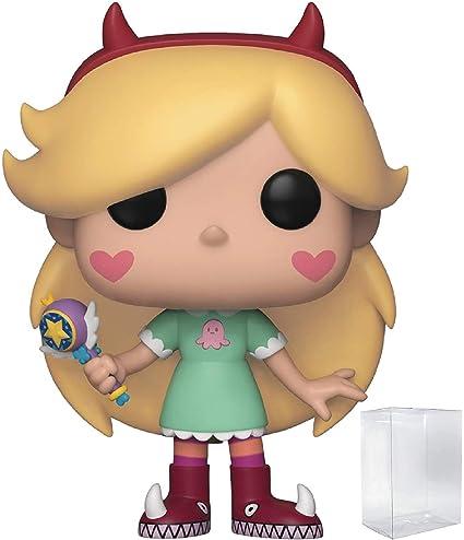 Disney Star Vs Las Fuerzas Del Mal Star Mariposa Funko Pop Figura De Vinilo Incluye Funda Protectora Compatible Con Caja De Pop Toys Games