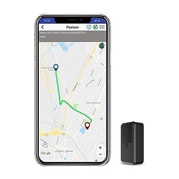 Localizador GPS para Coche Tiempo Real Mini GPS Tracker,Rastreador GPS Pequeño de Seguimiento Paquete